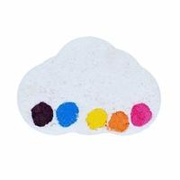 Boule de bain Watercolours Raining Rainbows