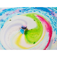 Boule de bain Watercolours Amour & More - Bomb Cosmetics 2