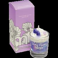 Bougie crème fouettée Shiny Happy Purple