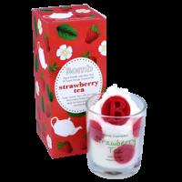 Bougie crème fouettée Strawberry Tea