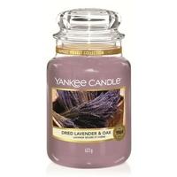 Bougie Dried Lavender & Oak grande jarre