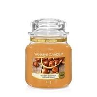 Bougie Golden Chestnut moyenne jarre