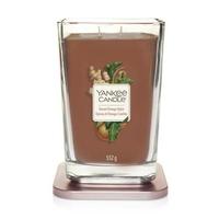 Bougie Épices & Orange Confite grande jarre (gamme Elevation) - Yankee Candle 2