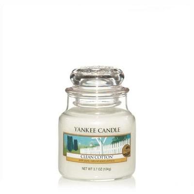 Bougie Clean Cotton petite jarre