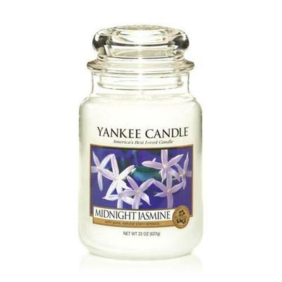 Bougie Midnight Jasmine grande jarre - Yankee Candle