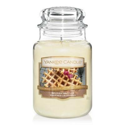 Bougie Belgian Waffles grande jarre - Yankee Candle