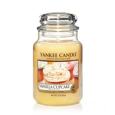 Bougie Vanilla Cupcake grande jarre - Yankee Candle