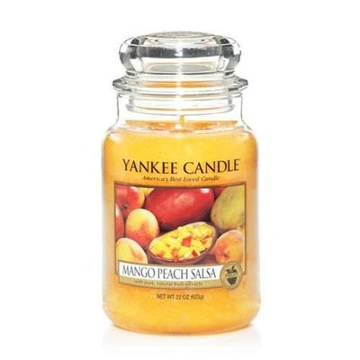 Bougie Mango Peach Salsa grande jarre
