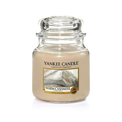 Bougie Warm Cashmere moyenne jarre - Yankee Candle