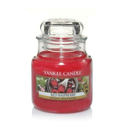 Bougie Red Raspberry petite jarre - Yankee Candle