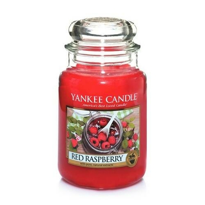 Bougie Red Raspberry grande jarre - Yankee Candle