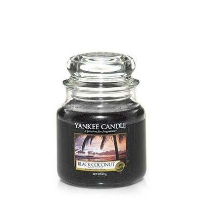 Bougie Black Coconut moyenne jarre