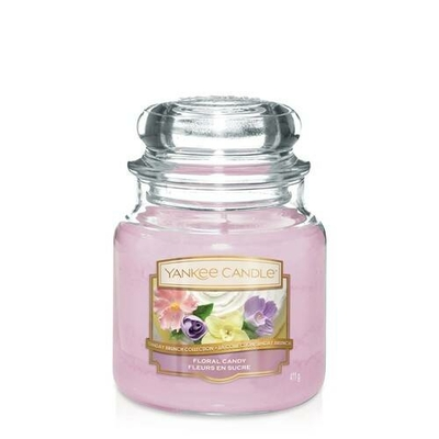 Bougie Floral Candy moyenne jarre - Yankee Candle
