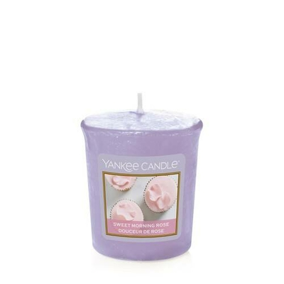 Bougie Sweet Morning Rose votive - Yankee Candle
