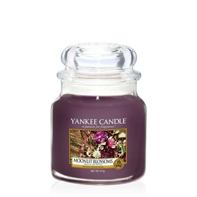 Bougie Moonlit Blossoms moyenne jarre - Yankee Candle