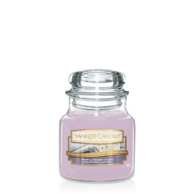 Bougie Honey Lavender Gelato (Gelato Miel Lavande) petite jarre - Yankee Candle