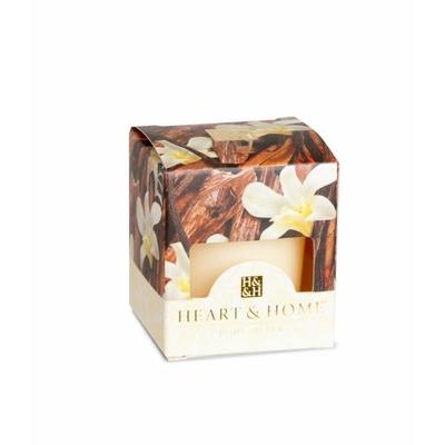 Bougie parfumée Bois De Santal Et Vanille 53g - Heart & Home