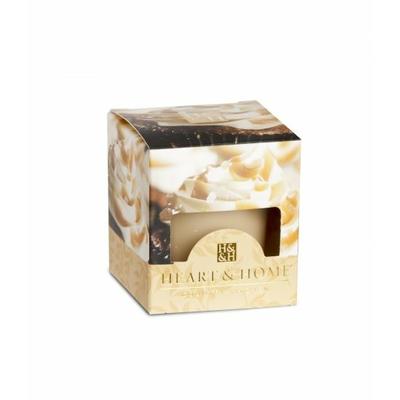 Bougie parfumée Cupcake Caramel 53g - Heart & Home