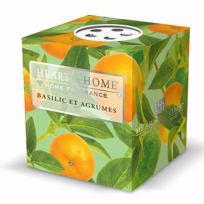 Bougie parfumée Basilic & Agrumes 53g - Heart & Home