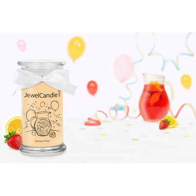 Bougie Sangria Party (bague)