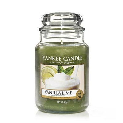 Bougie Vanilla Lime grande jarre
