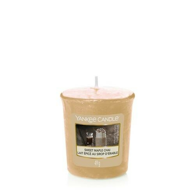 Bougie Sweet Maple Chaï votive - Yankee Candle