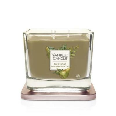 Bougie Poire Et Feuilles De Thé moyenne jarre (gamme Elevation) - Yankee Candle 2