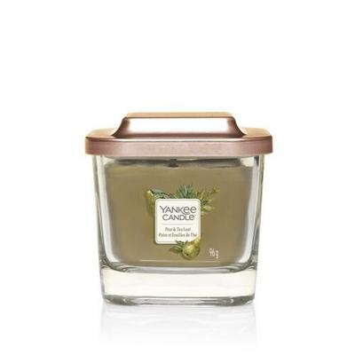 Bougie Poire & Feuilles De Thé petite jarre (gamme Elevation)