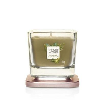 Bougie Poire Et Feuilles De Thé petite jarre (gamme Elevation) - Yankee Candle 2