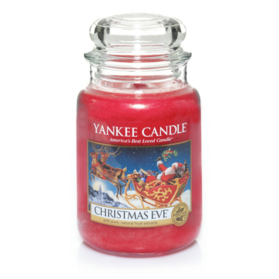 Bougie Christmas Eve grande jarre