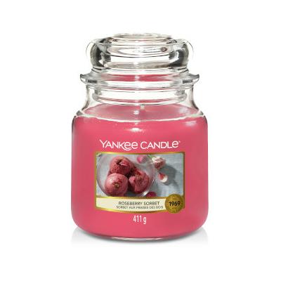 Bougie Roseberry Sorbet moyenne jarre