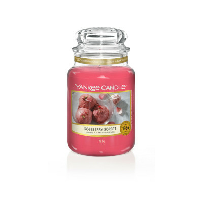 Bougie Roseberry Sorbet grande jarre