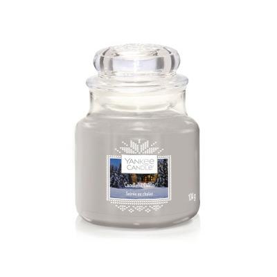 Bougie Candlelit Cabin petite jarre