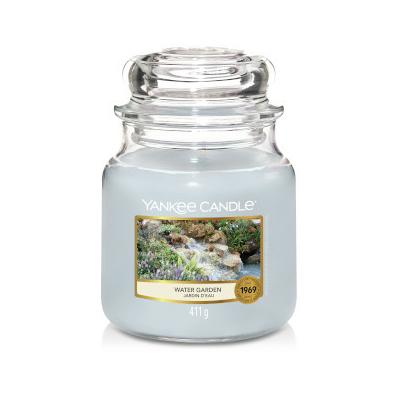 Bougie Water Garden moyenne jarre