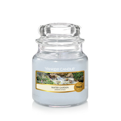 Bougie Water Garden petite jarre