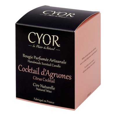 Bougie Cocktail D'Agrumes - Cyor 2