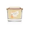 Bougie Riz Au Lait & Miel petite jarre (gamme Elevation) - Yankee Candle 1