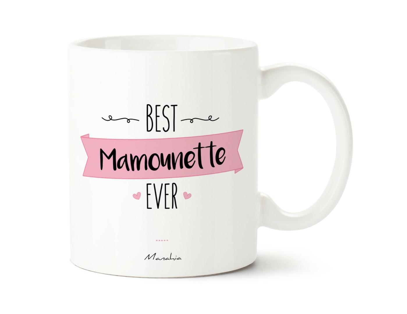 Mug Best mamounette ever - Manahia 1