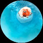 Boule de bain Foxy Loxy - Bomb Cosmetics 2