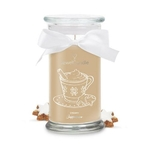 Bougie-bijou Creamy Cappuccino - JewelCandle