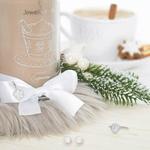 Bougie-bijou Creamy Cappuccino (boucles doreilles) - JewelCandle