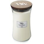 Bougie Linge Propre grande jarre - WoodWick 1