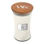 Bougie Teck Blanc grande jarre - WoodWick 1