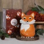 Bougie-bijou renard Mister Fox (boucles doreilles) - JewelCandle 2