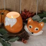 Bougie-bijou renard Mister Fox (boucles doreilles) - JewelCandle 3
