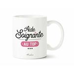 Mug Aide soignante au top 1