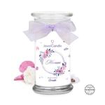 Bougie-bijou Maman Tu Es La Plus Chouette (boucles d'oreilles) - JewelCandle 1