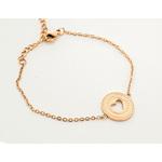 Bracelet Maman je taime tout fort (coeur) 2