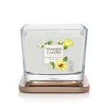 Bougie Fleur De Coton 2 moyenne jarre (gamme Elevation) - Yankee Candle