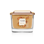Bougie Chêne Et Ambre petite jarre (gamme Elevation) - Yankee Candle